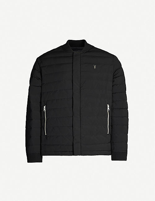 ALLSAINTS Albion collared shell jacket