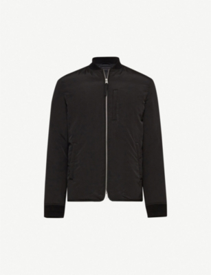 ALLSAINTS Coot shell bomber jacket