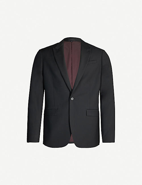 ALLSAINTS Cleaver single-breasted woven blazer