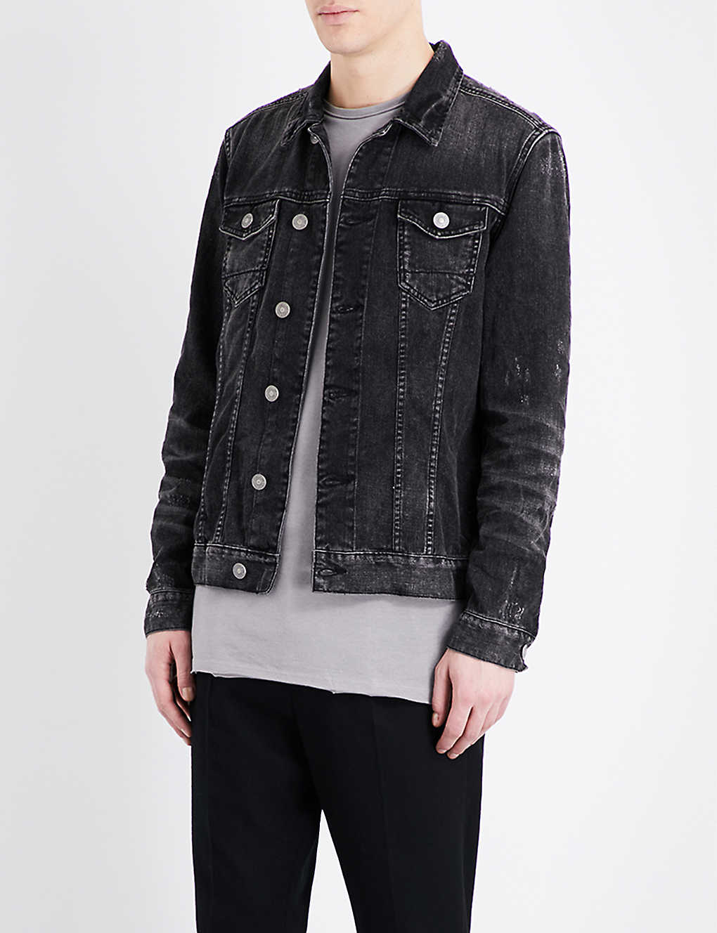 4c73368881 ALLSAINTS - Tocander denim jacket