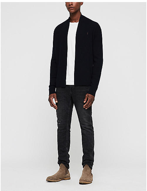 ALLSAINTS Mode open-front wool cardigan