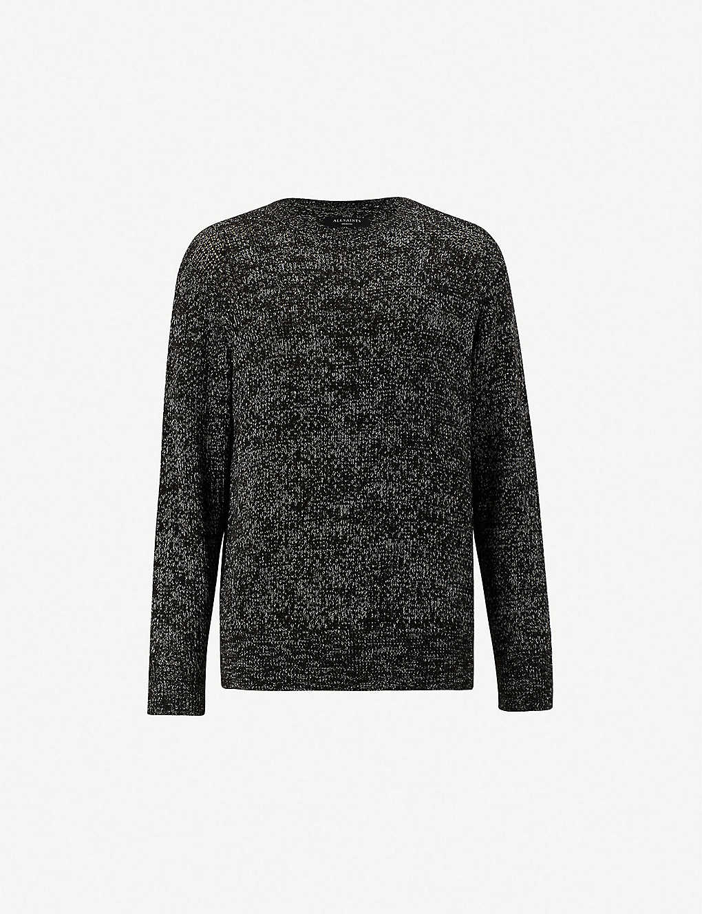 5a867dabb4301 ALLSAINTS - Oskett cotton-knit crewneck jumper