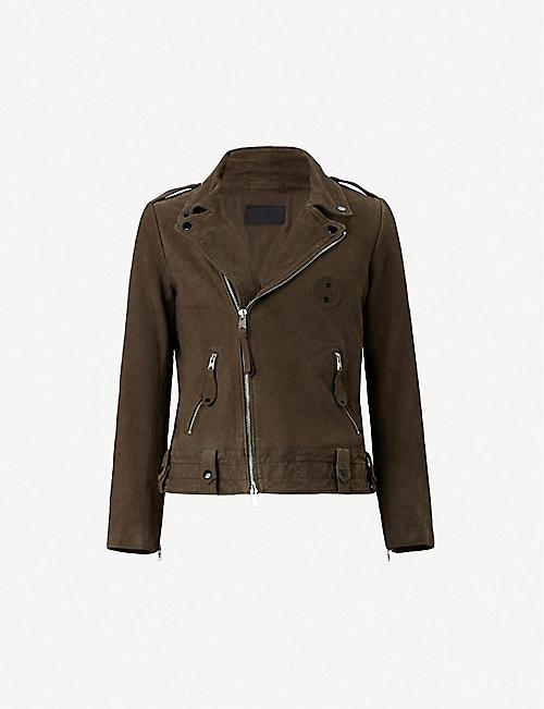109c8b2dd8a4 Leather jackets - Coats   jackets - Clothing - Mens - Selfridges ...