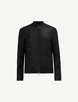 ALLSAINTS Colt funnel-neck leather jacket