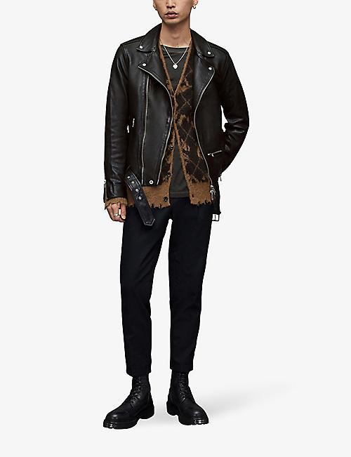 42f768ce57db1 ALLSAINTS Wick leather biker jacket