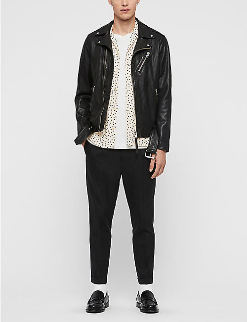 ALLSAINTS Rigg leather biker jacket