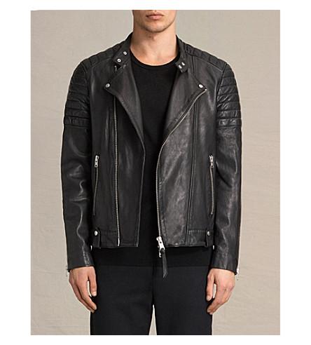 2db06c3c73 ALLSAINTS Jasper leather biker jacket (Black