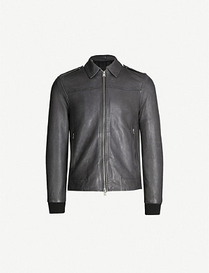 ALLSAINTS Junction leather jacket