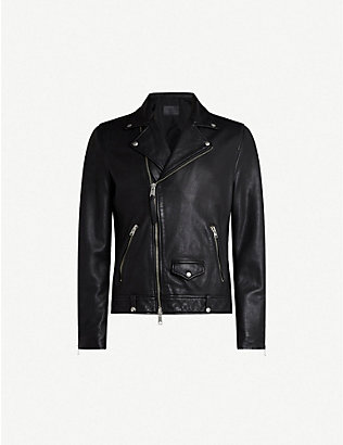 ALLSAINTS: Milo leather biker jacket