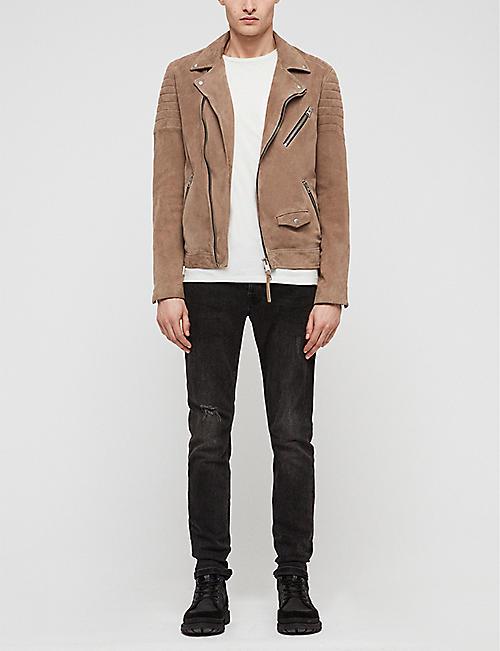 ad690b01c4d72 Leather jackets - Coats   jackets - Clothing - Mens - Selfridges ...