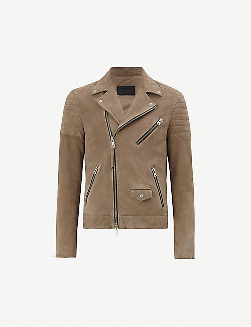 bdc80f6f8fa6ac Suede - Leather jackets - Coats   jackets - Clothing - Mens ...