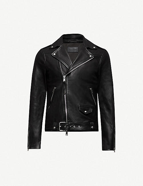 ALLSAINTS Manor biker leather jacket