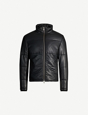 ALLSAINTS Coronet leather padded jacket