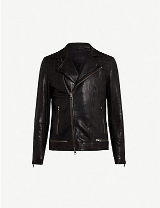 ALLSAINTS: Conroy leather biker jacket