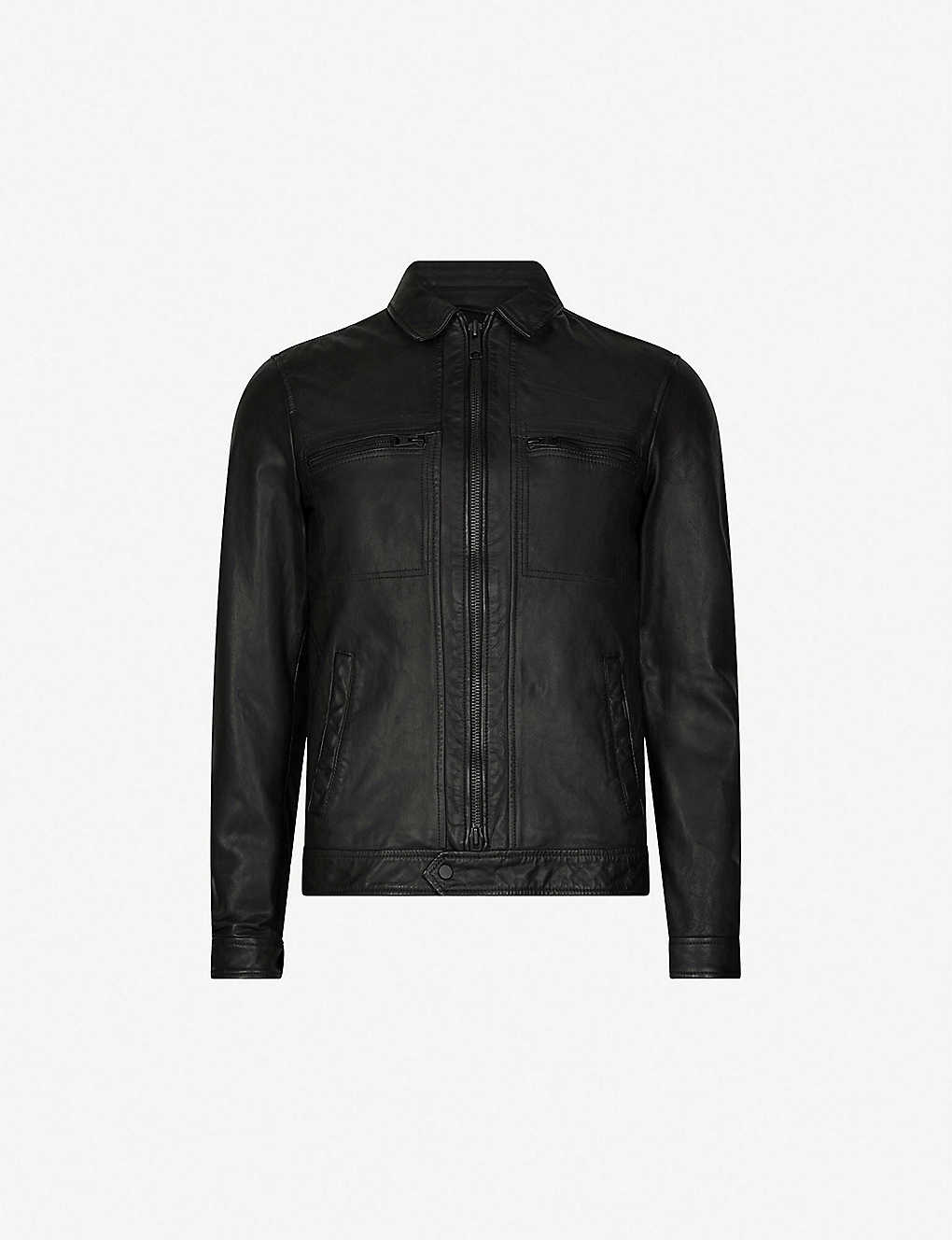 e068e864ec3 ALLSAINTS - Lark leather jacket | Selfridges.com