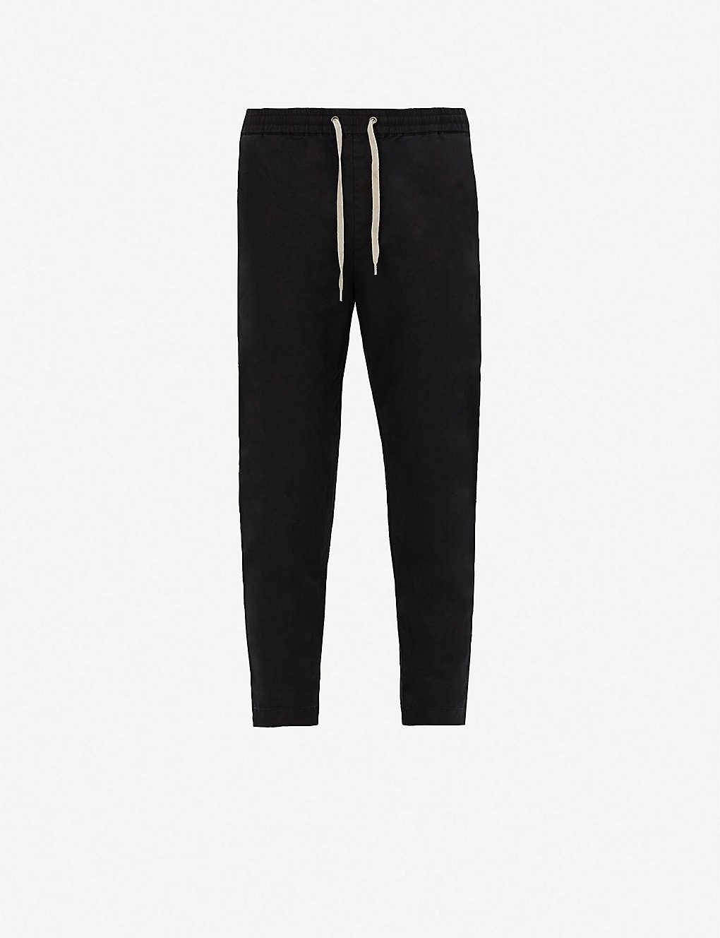 ALLSAINTS: Luckett slim-fit straight-leg cotton and linen-blend trousers