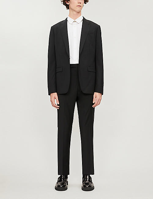 ALLSAINTS Cleaver cropped straight woven trousers