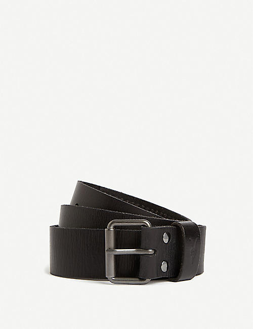 ALLSAINTS: Laxford leather belt