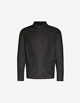 ALLSAINTS: Bramston regular-fit cotton denim shirt