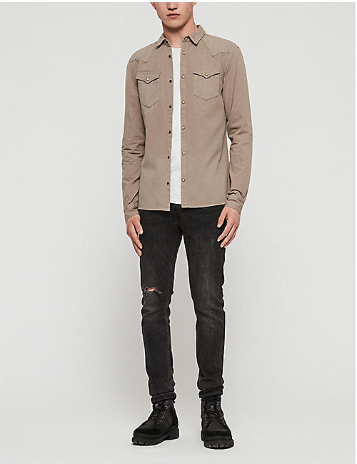 ALLSAINTS Ceres slim-fit cotton shirt