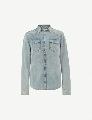 ALLSAINTS Isuka denim shirt
