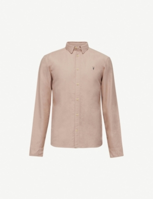 ALLSAINTS Hungtingdon slim-fit cotton shirt