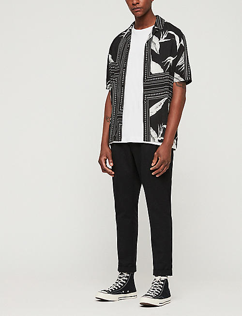 ALLSAINTS Java slim-fit woven shirt