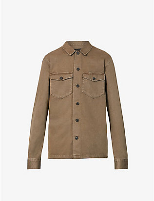ALLSAINTS: Firebase slim-fit cotton shirt