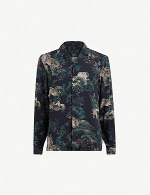 4efcb1ee61 ALLSAINTS - Hungtingdon slim-fit cotton shirt