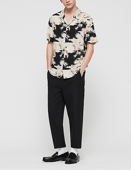 ALLSAINTS Talon slim-fit woven shirt