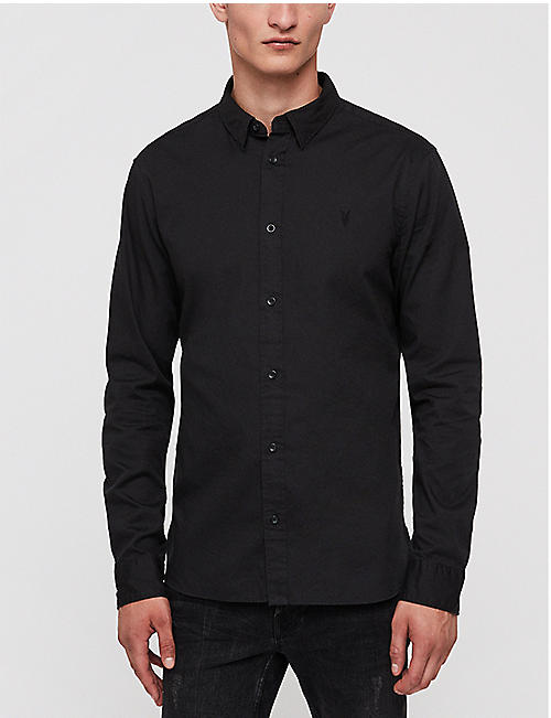 ALLSAINTS Redondo slim-fit cotton shirt