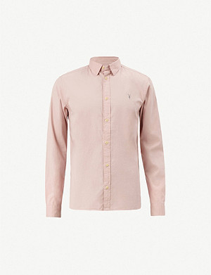 4efcb1ee61 ALLSAINTS - Hungtingdon slim-fit cotton shirt