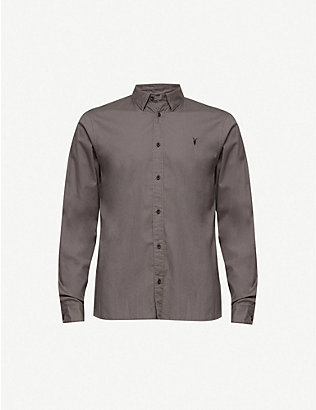 ALLSAINTS: Redondo slim-fit cotton shirt