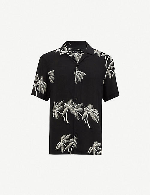 6a118a78 ALLSAINTS - Shirts - Clothing - Mens - Selfridges | Shop Online