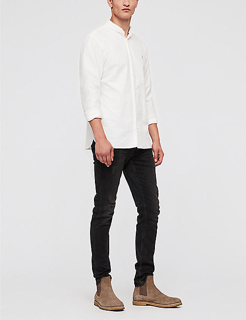 ALLSAINTS Augusta slim-fit cotton shirt