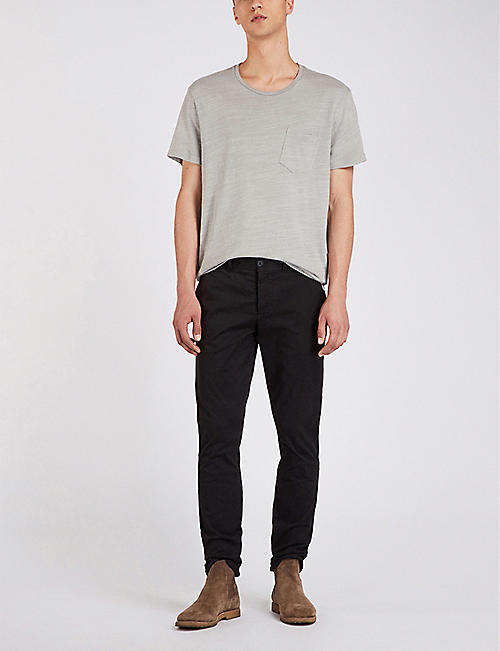 ALLSAINTS Park slim-fit stretch-cotton chinos