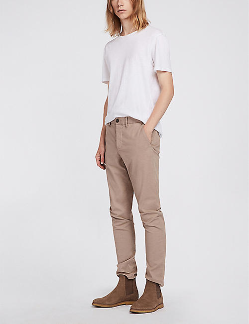 ALLSAINTS Felix slim-fit stretch-cotton chinos