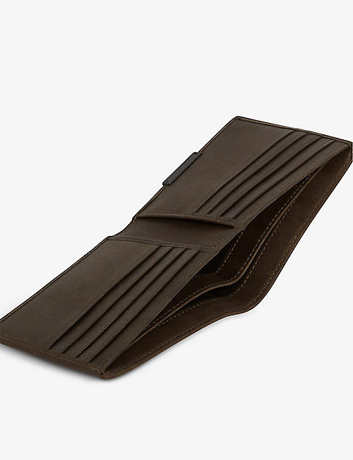 ALLSAINTS Attain leather wallet