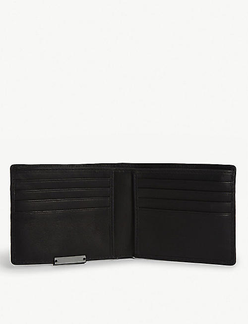 ALLSAINTS Leather wallet and card holder set