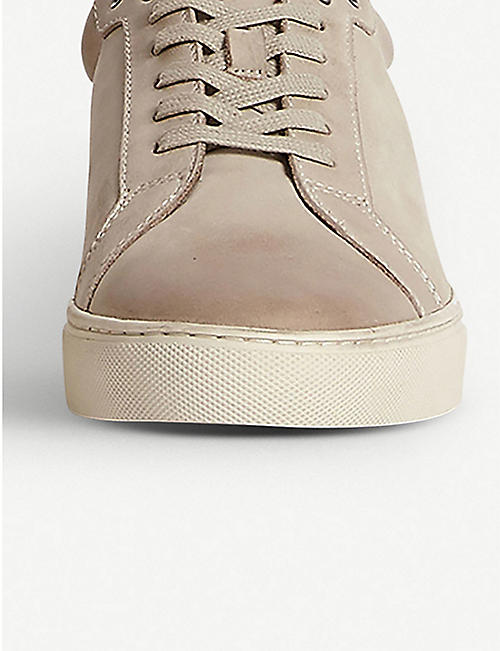 ALLSAINTS Stow lop-top leather trainers
