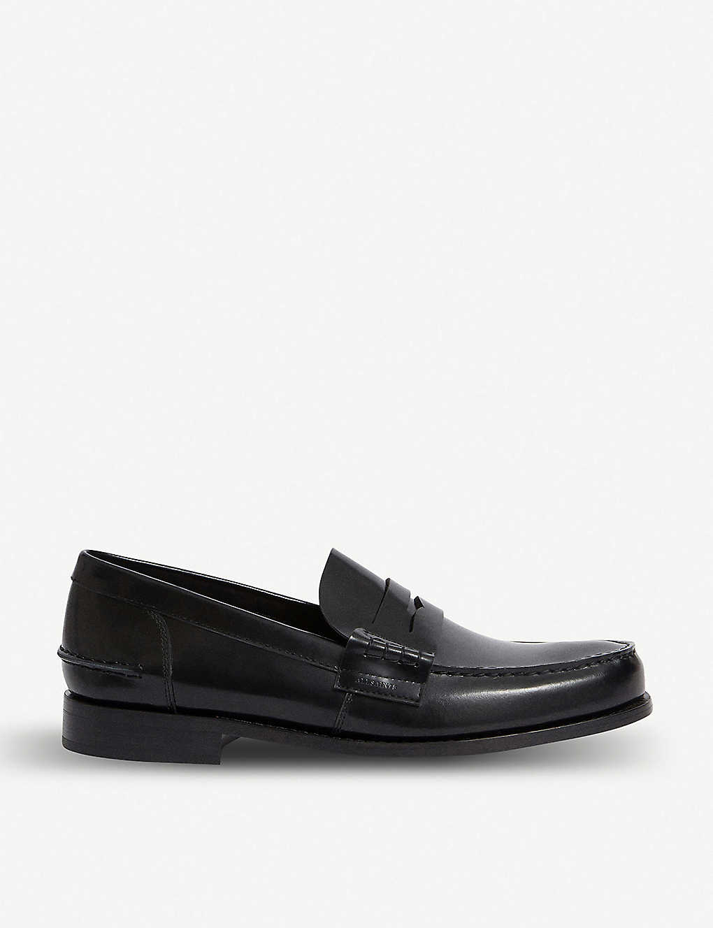 ALLSAINTS: Pelhem leather loafers