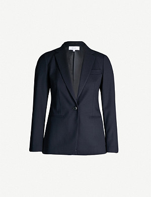 REISS Hartley slim-fit wool-blend jacket