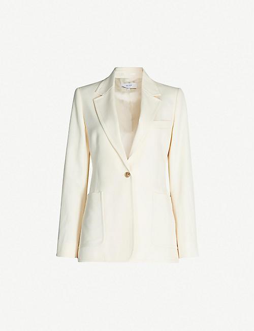 8973e49a5bb11 REISS Evie long-sleeved woven blazer