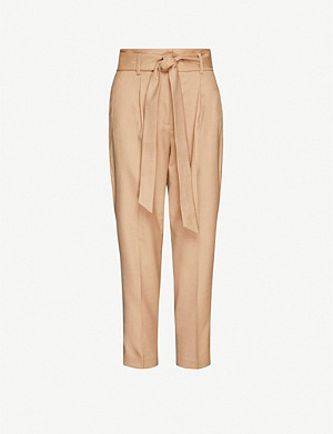 REISS Horton wool-blend trousers