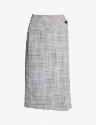 REISS Alenna wool-blend pencil skirt