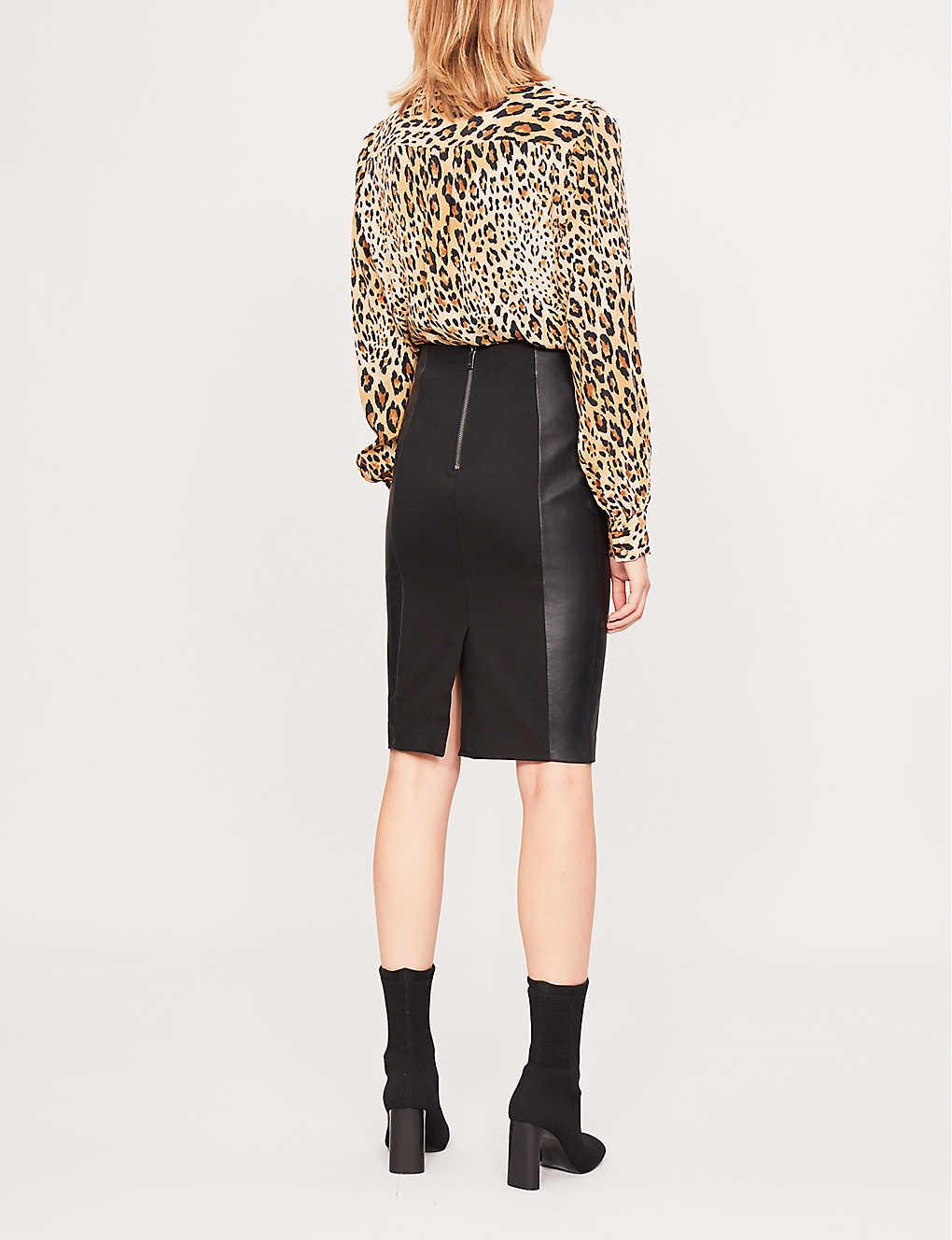 c96b0949e7 REISS - Megan high-rise pencil skirt