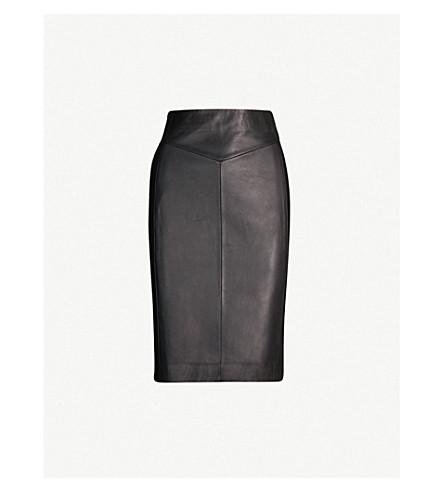 121cf380bb REISS Megan high-rise pencil skirt (Black