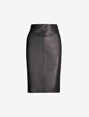 REISS Megan high-rise pencil skirt