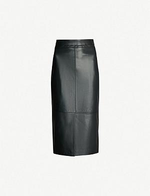 cb8331c5d4 REISS - Lennox high-rise pencil skirt   Selfridges.com