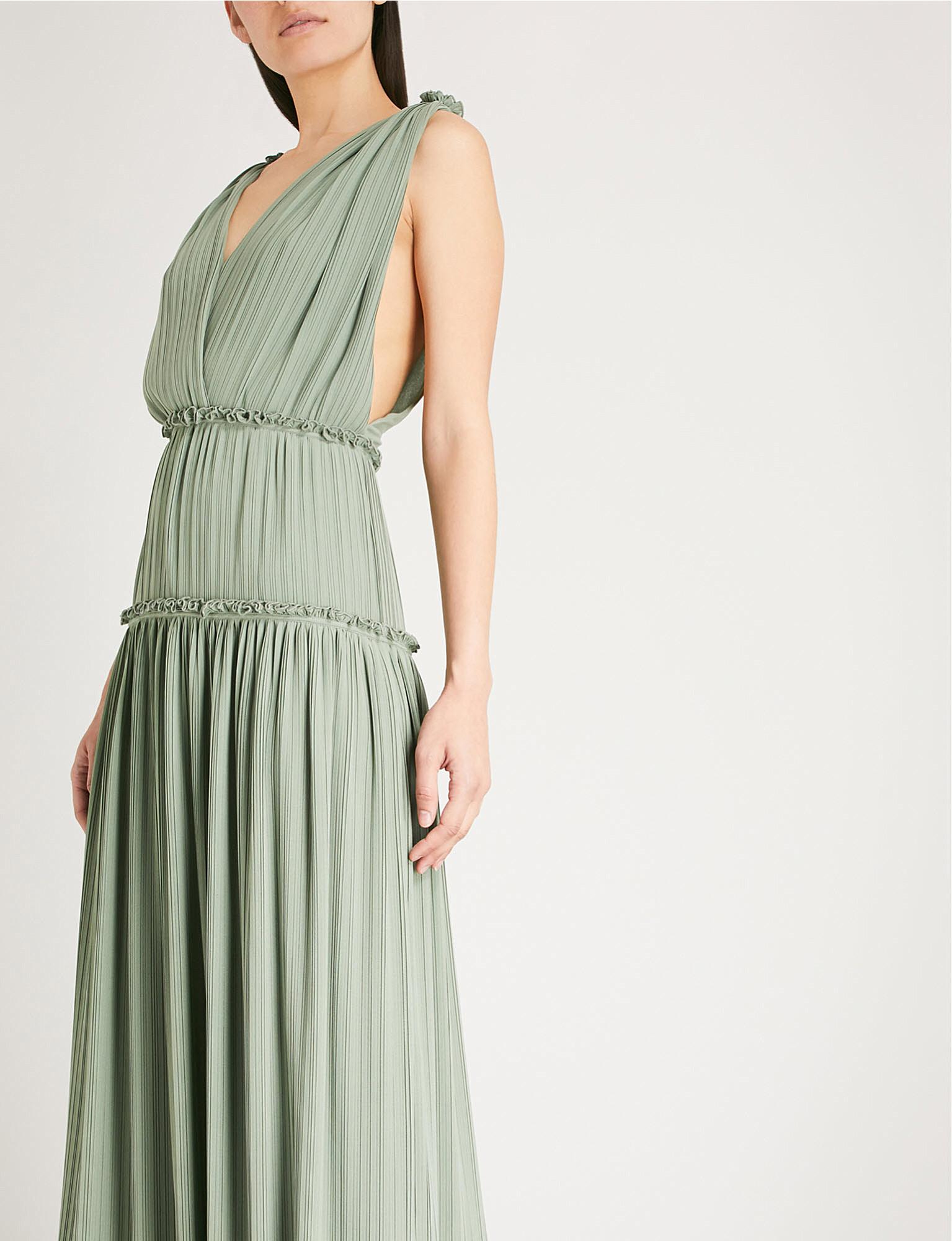 6dde5c75516 ... Gigi pleated chiffon maxi dress zoom ...